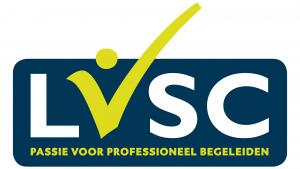 Weergave logo LVSC. Het logo hoort bij de pagina over de gedragscode voor LVSC-leden op de website van wandelcoach Claudia van Leent.